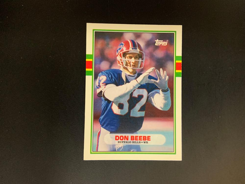 1989 Topps Traded Don Beebe