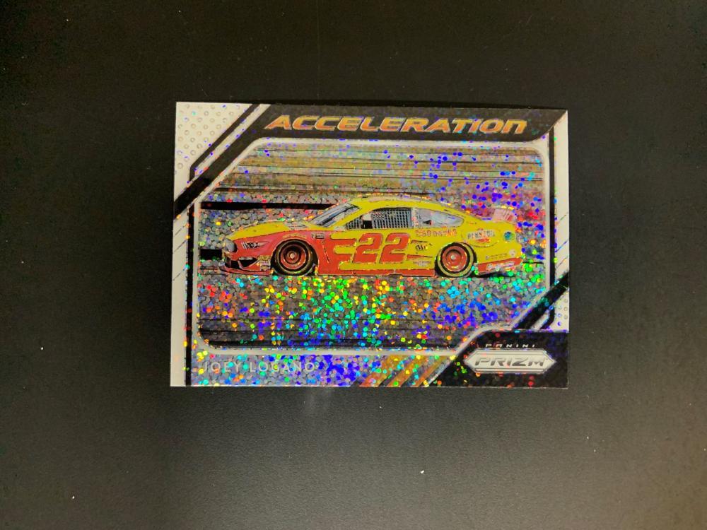 2019 Prizm Racing Joey Logano Acceleration Disco Prizm