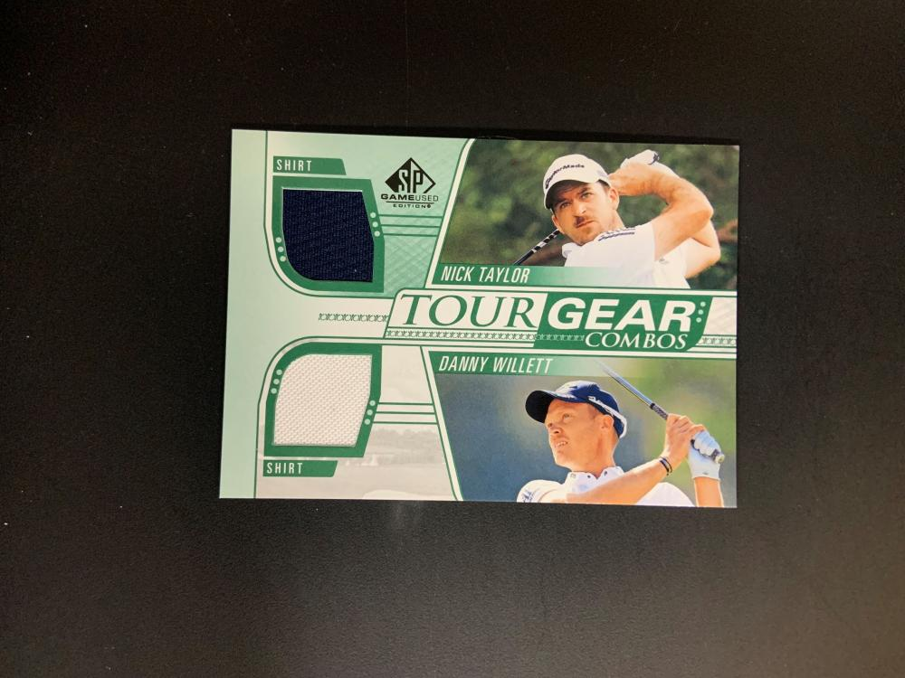 SP Game Used Danny Willett/Nick Taylor Tour Gear Combos