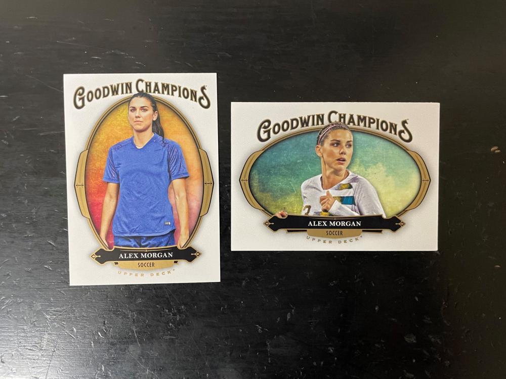 Alex Morgan Goodwin Champions lot of 2