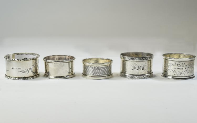 A Collection of Edwardian and 20th Century Silver