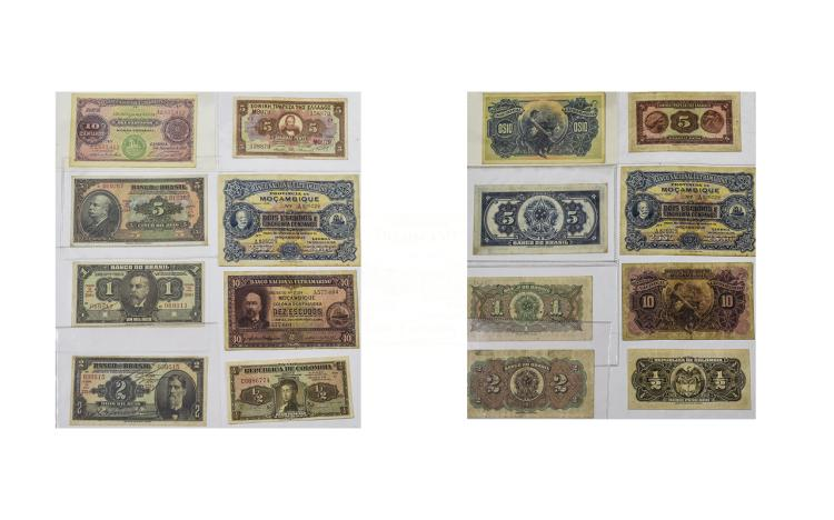A Collection of World Bank Notes, Brazilian Collec