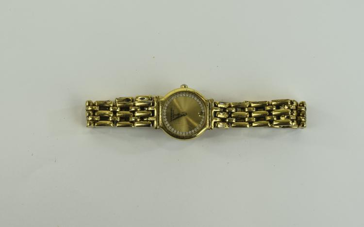 Ladies Raymond Weil Wristwatch gilt dial, gold pla