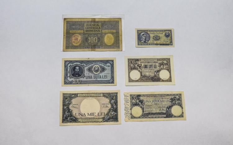 Banca Nationala A Romaniei Collection of Bank Note