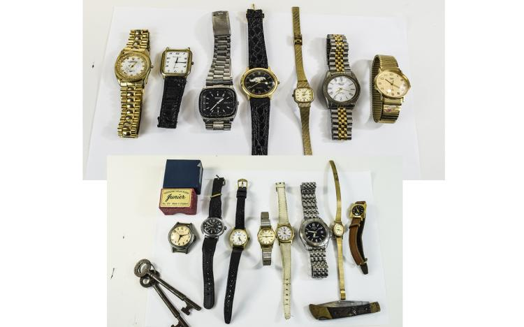 Mixed Lot Of Used Broken Wristwatches A/F