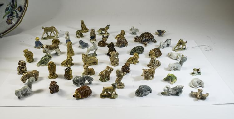 Wade Whimsies Collection of ( 51 ) Animal Figures