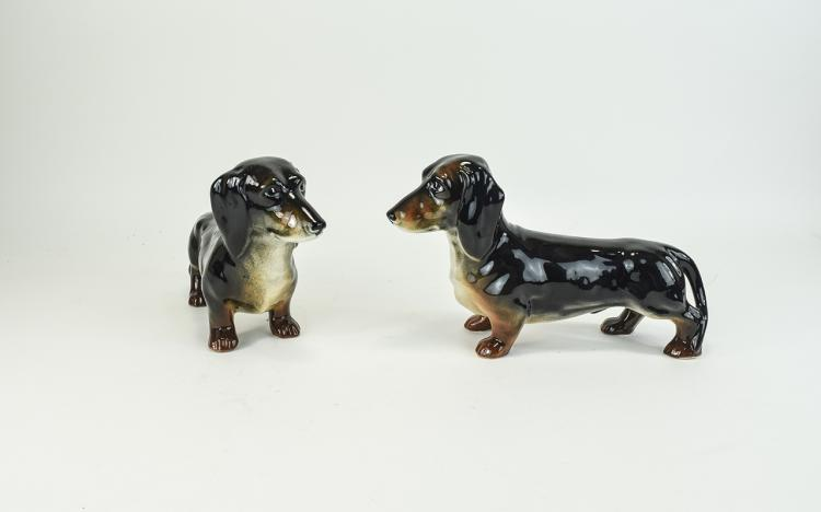 Beswick Animal Figures ( 2 ) In Total ' Dachshund