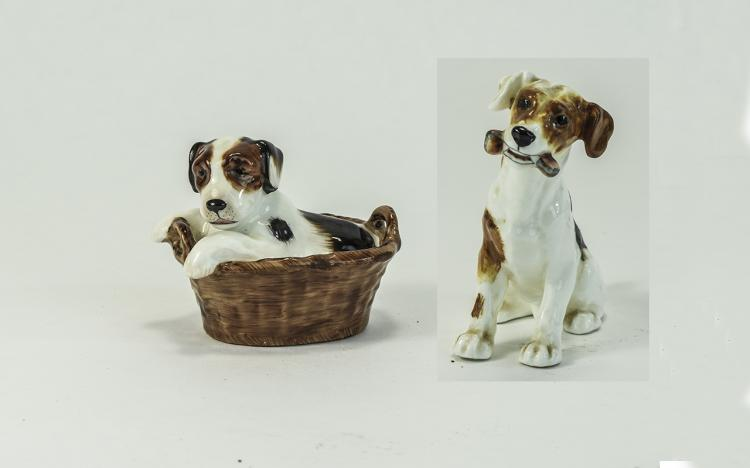Royal Doulton Animal Figures ( 2 ) In Total. 1/ Te