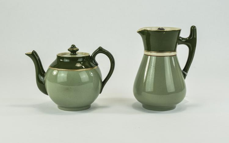 James Macintyre Dura - Table Ware Teapot and Match