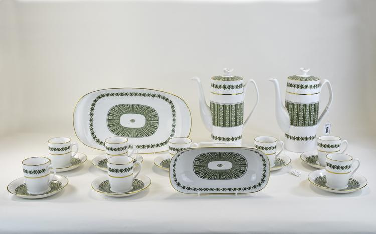 Spode Bone China ( 20 ) Piece Coffee Set. Comprise