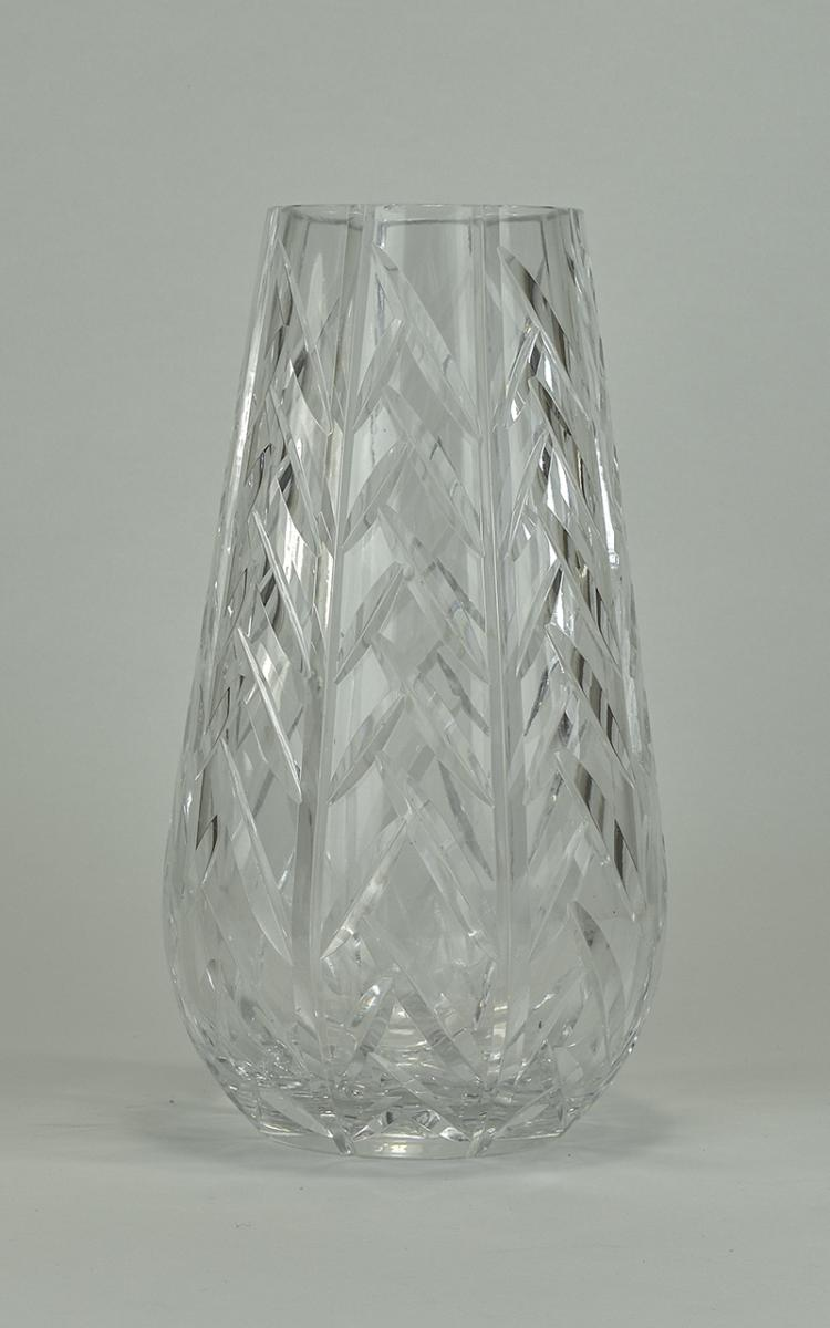 Waterford Cut Crystal Vase of Excellent Quality an