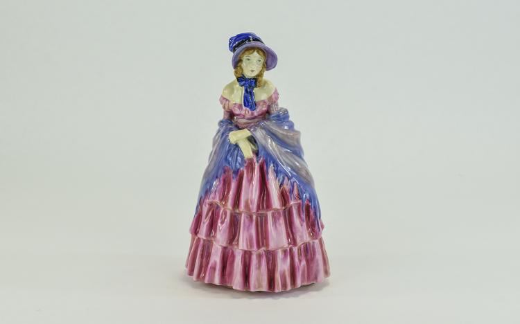 Royal Doulton - Early Figure ' The Victorian Lady
