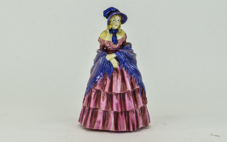 Royal Doulton Figure ' Victorian Lady ' HN728. Des
