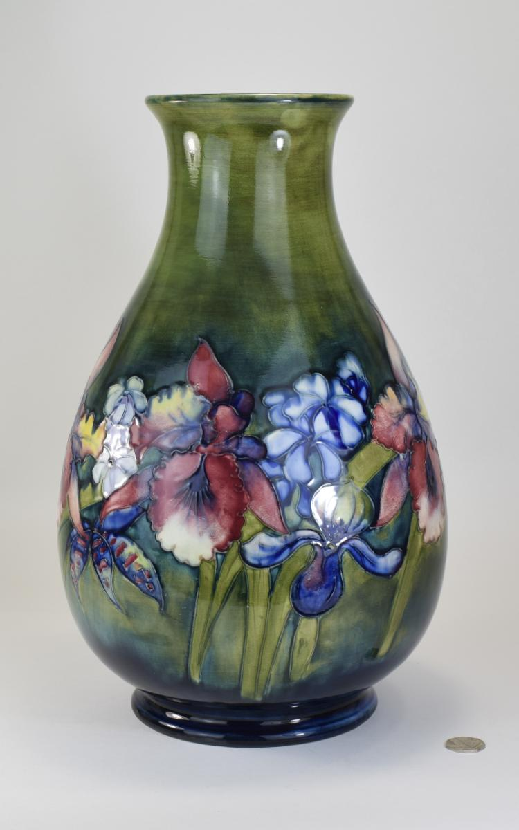 W. Moorcroft Huge and Impressive Ovoid Shaped Vase