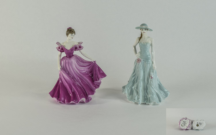 Royal Worcester Figures of The Year 1997. 1/ Seren