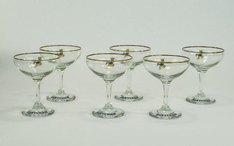 Waterford Set of 6 Sherry Liqueur Glasses.