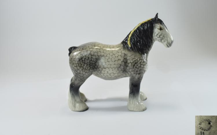 Beswick Shire Horse Figure ' Shire Mare ' Rocking