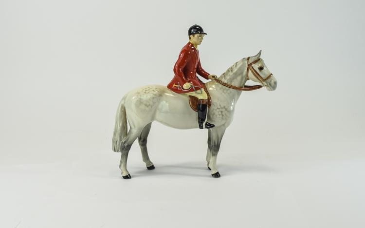 Beswick Rider and Horse Figure ' Huntsman ' Model