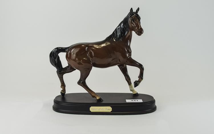 Beswick Horse Figure ' Spirit of The Wind ' Model