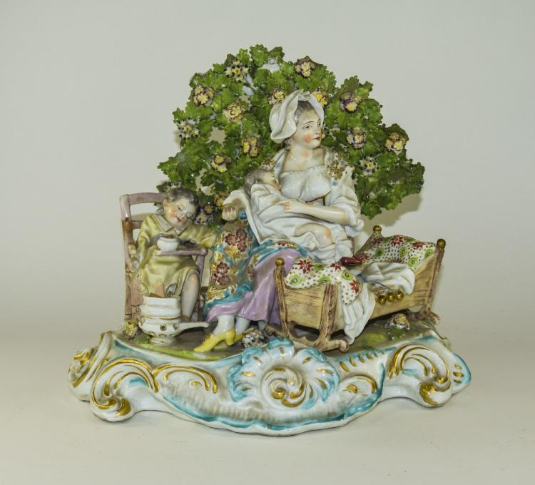 Chelsea - Fine Hand Painted Group Figure ' Mother