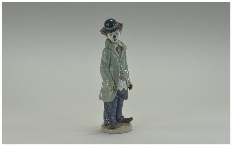 Lladro Figure  ''Circus Sam''  Model number 5472,