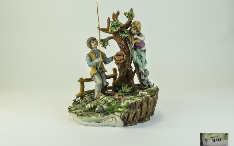 Capodimonte - Signed and Early Figure. c.1960's. A