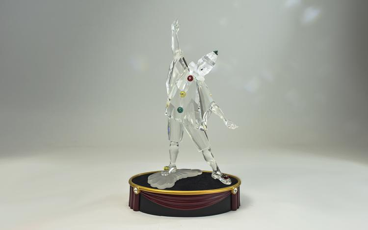 Swarovski S.C.S. Annual Edition Crystal Figure ' M