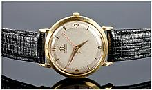 Omega 1950's Automatic 18ct Gold Cased Gents