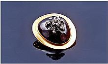 Victorian Fine Heart Shaped High Carat Gold