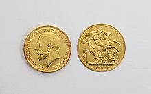 George V 22ct Gold Full Sovereign. Date 1912, London Mint - Please See Photo.