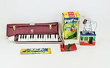 Rigi N.900 Cable Car In Box Together With A Hohner Melodica Piano 27