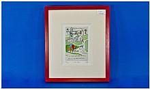 Tim Bulmer Limited Edition Pencil Signed And