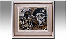 Lawrence Isherwood 1917-1989 Pencil Signed And