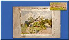 Percy Brooke. Flo. 1894-1916. Watercolour