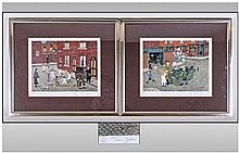 Tom Dodson, Pair of Limited Edition Framed