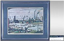 L.S Lowry 1887-1976 Pencil Signed Limited Edition