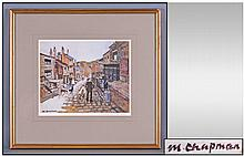 Margret Chapman Pencil Signed Colour Print, 19th