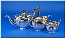 Mappin & Web Fine Silver 3 Piece Tea Service.