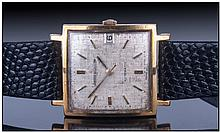 Gents 18ct Gold Jaeger LeCoultre Automatic
