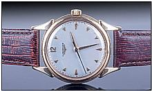 Longines Gents 9ct Gold Cased Wristwatch, circa