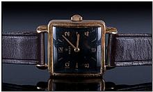 Gents 9ct Gold Rolex Wristwatch, Reference 1164.