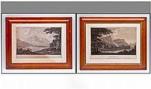 Pair Of Maple Framed Prints, one of Grasmere,