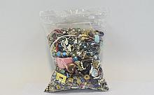 Large Bag Of Costume Jewellery >5kg Assorted Mix, May Include Rings, Necklaces, Beads, Brooches, Bangles, Bracelets Etc.