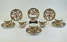 Royal Crown Derby Fine Quality Imari Pattern Set of Cups and Saucers ( 12 ) Pieces In Total. Date 1909, Imari Kings Pattern, Pattern No 383. Comprises 6 Large Cups and Six Saucers. All Pieces are In Mint Condition.
