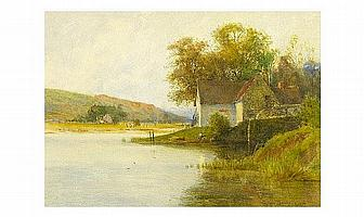 """Percy Brooke, Flo 1884-1916 """" A Tranquil Spot To"""