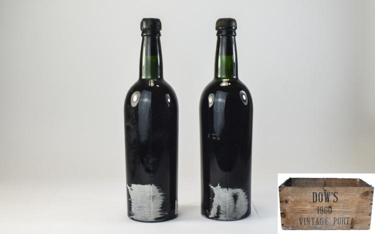 Dows-BottleofVintagePort1960(2)BottlesOfferedInThisLot.The1