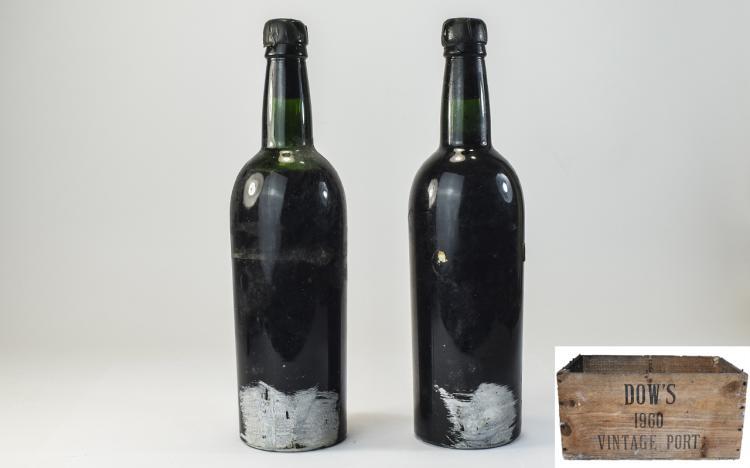 Dows-BottleofVintagePort1960(2)BottlesOfferedInThisLot.The1