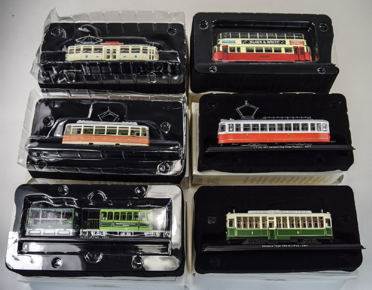 AtlasLtdEdition1.87SmallScaleModelTrams,CompletewithBoxesandBro