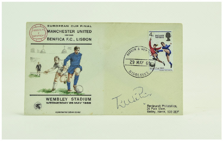 1968ManchesterUnitedVBenficaFirstDayCover