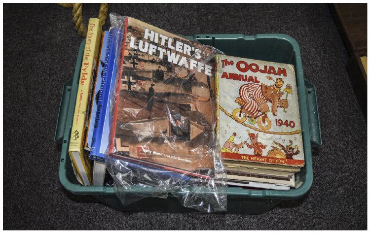 CollectionOfOldBooksIncludingmilitarybooks,localhistorybooks,book